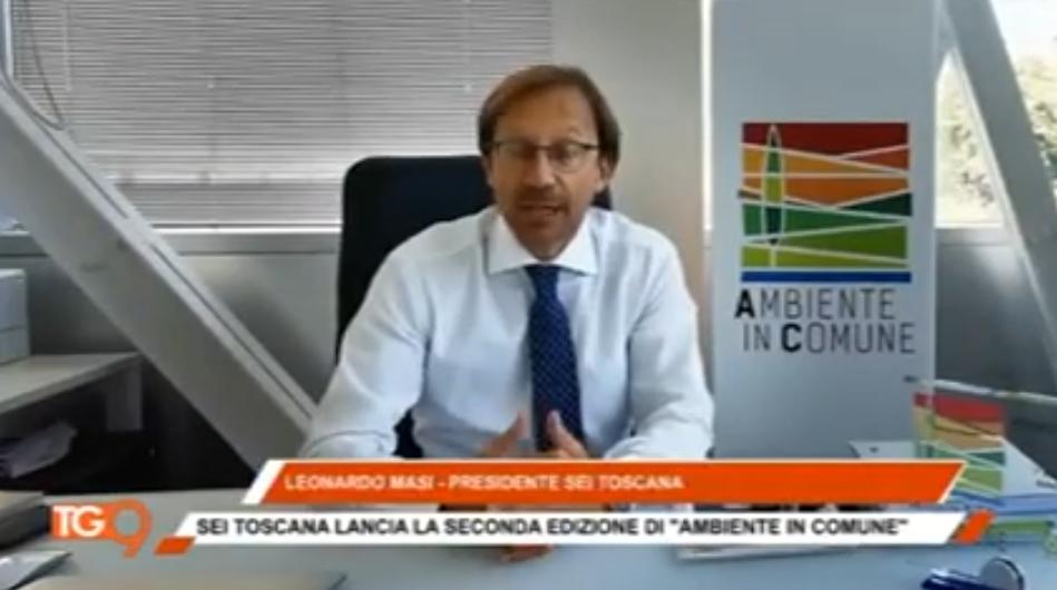 """Seconda edizione di """"Ambiente in Comune"""": Sei Toscana premia i Comuni più sostenibili (TV9)"""