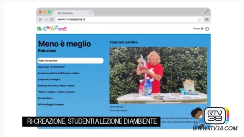 Sesta edizione di RI-Creazione, il progetto di educazione ambientale di Sei Toscana (RTV38)