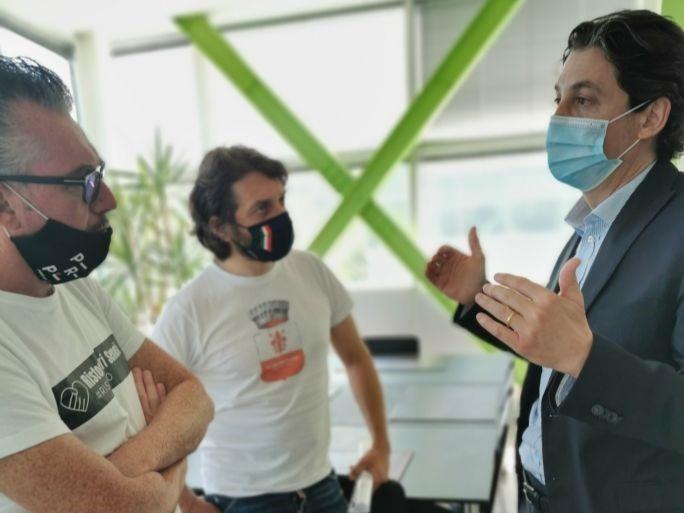 """Emergenza Covid: l'Ad di Sei Toscana, Marco Mairaghi, incontra la delegazione di """"Ristoratori Toscana"""""""