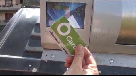 Parte la distribuzione della 6Card per aprire le postazioni dei rifiuti