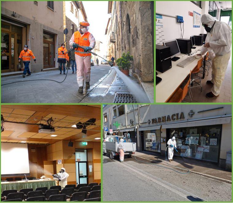 Contrasto diffusione virus Covid-19: i servizi straordinari di sanificazione e igienizzazione di Sei Toscana